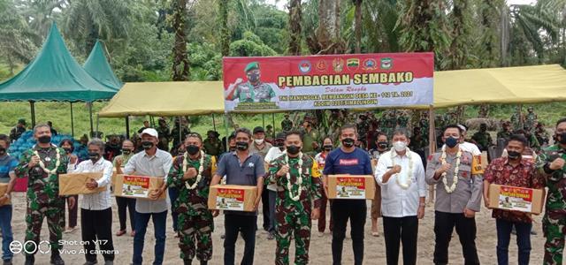 Tim Wasev TNI AD Kunjungi Sasaran TMMD Ke-112 Kodim 0207/Simalungun