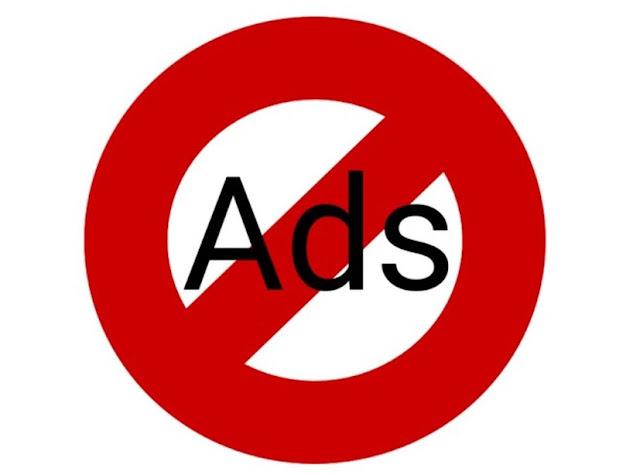 cara blokir iklan