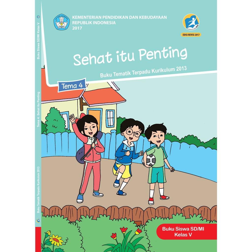 Buku Tematik Terpadu Kelas 5 Kurikulum Edisi Revisi 2017