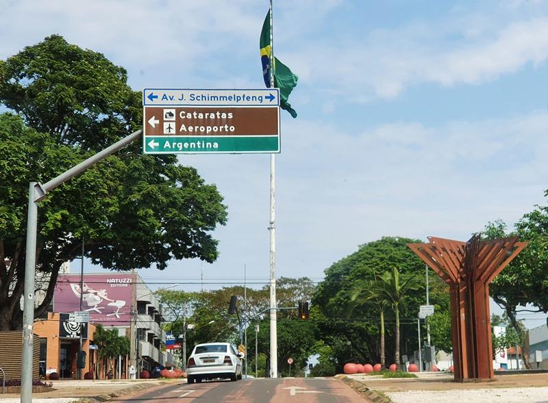 Hotéis no centro de Foz do Iguaçu