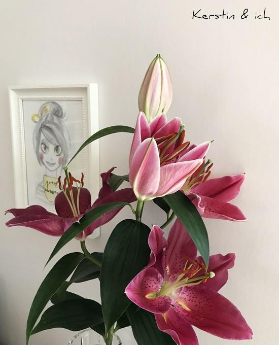 Blumen Friday-Flowerday Deko Lilien