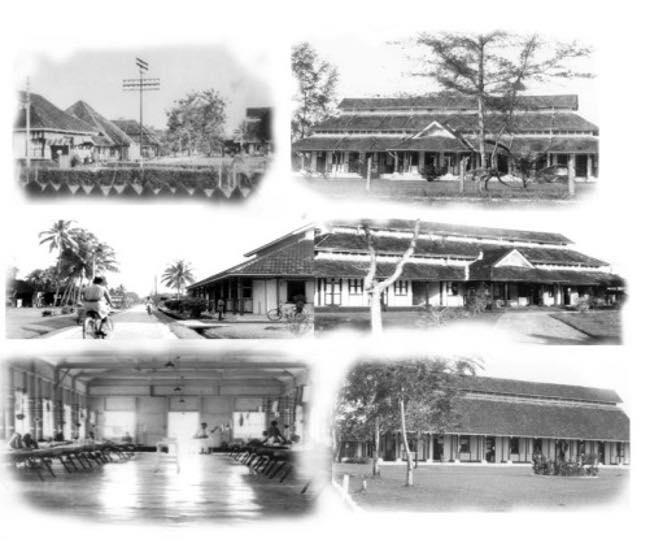 Bangunan lama Hospital Tengku Ampuan Afzan, Kuantan Pahang.