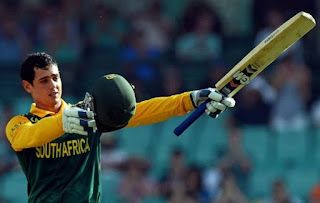 Quinton de Kock 107 - Australia vs South Africa 5th ODI 2014 Highlights