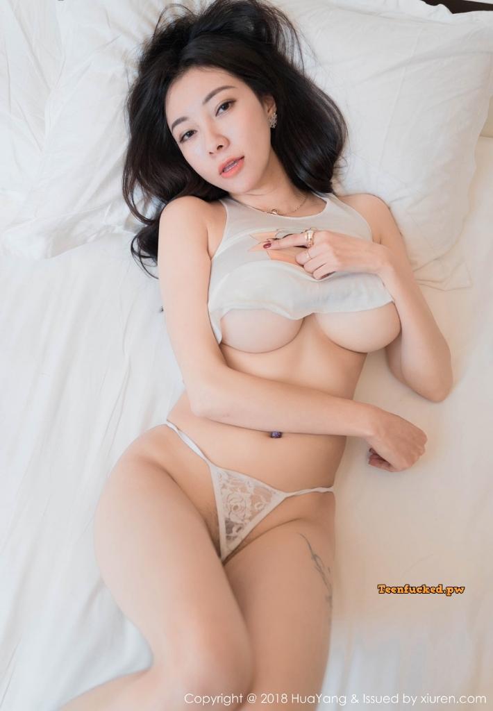 HuaYang 2018 10 23 Vol.090 Victoria Guo Er MrCong.com 019 wm - HuaYang Vol.090: Người mẫu Victoria (果儿) (43 ảnh)