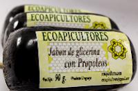 jabón de glicerina con propóleos ecoapicultores