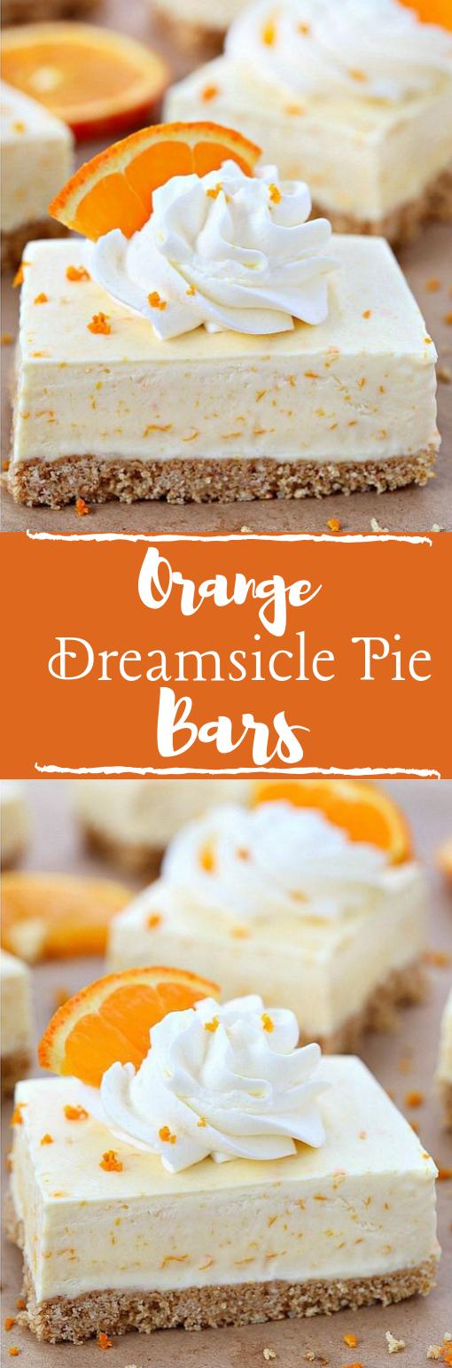 ORANGE DREAMSICLE PIE BARS RECIPE #dessert #healthyrecipe #orange #yummy #bars