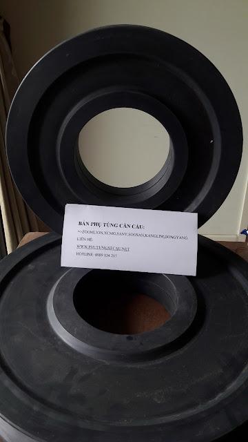 Lựa chon Pulley nhựa thay thế cho cần cẩu Zoomlion-XCMG-FUWA