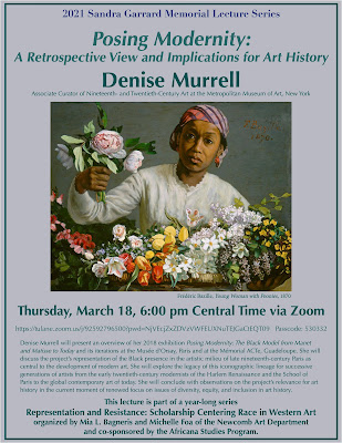 Poster for Garrard Lecture by Denise Murell