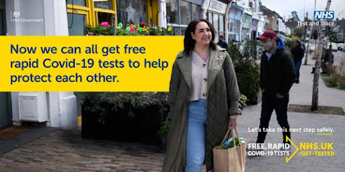 Free COVID tests for all in the UK
