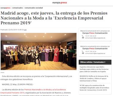 PRENAMO 2019 en la Prensa