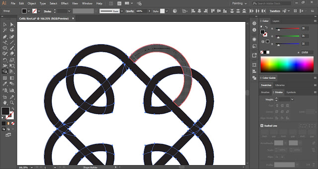 How to create Celtic Knots in Adobe Illustrator?