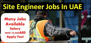 Site Engineer For Road Works at Shariah Based Contracting Company