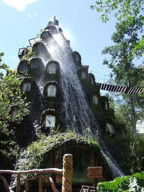 Montaña Magica Lodge, southern Chile.