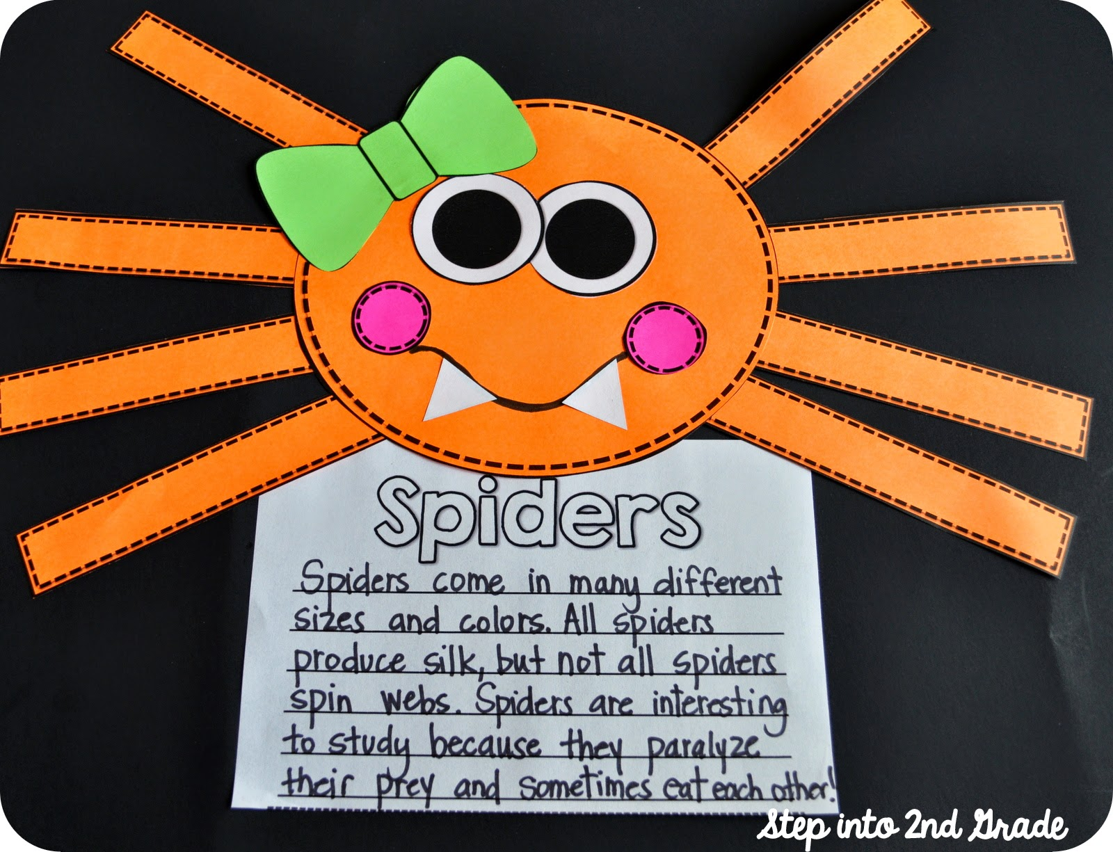 Step Into 2nd Grade With Mrs Lemons Eekkk Spiders