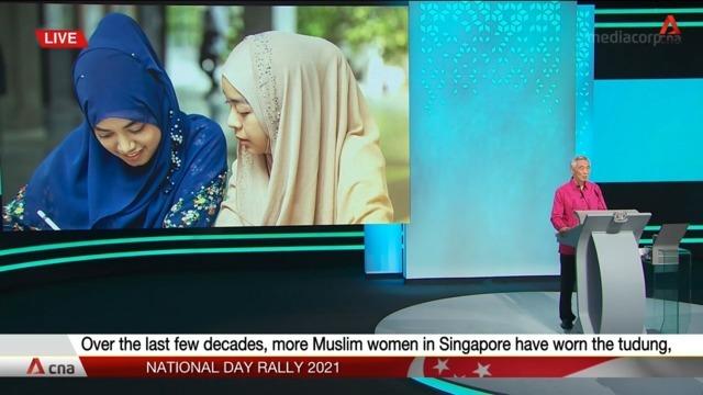 Menteri Muslim Singapura Gembira Perawat Boleh Pakai Jilbab