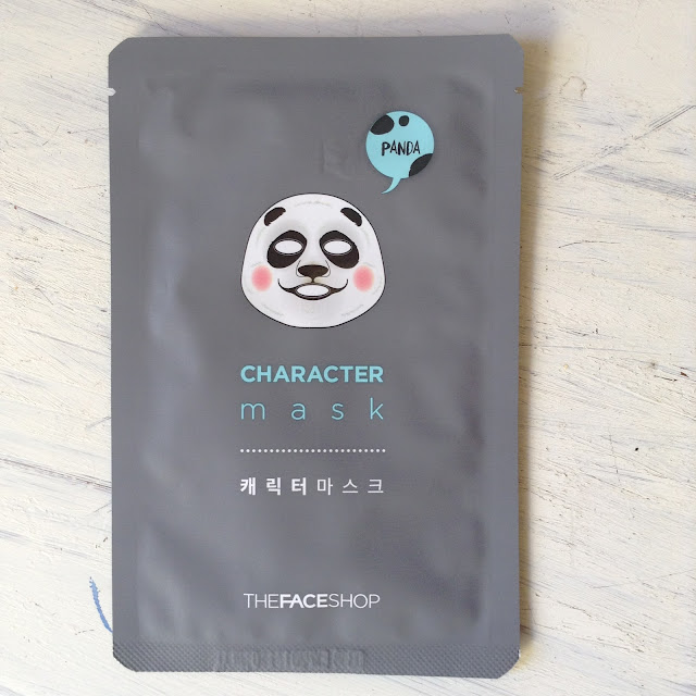 The Face Shop Character Mask Panda Review