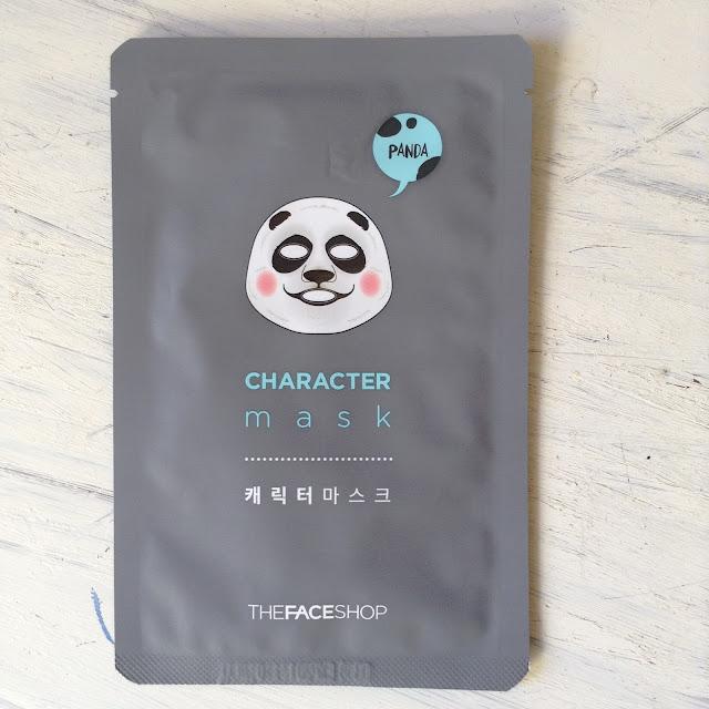 The Face Shop Character Mask Panda Review