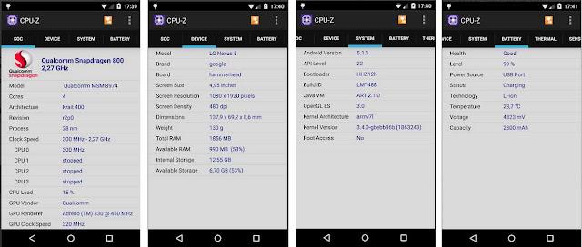 Cara Mengetahui Spesifikasi HP dan Versi Android Nya