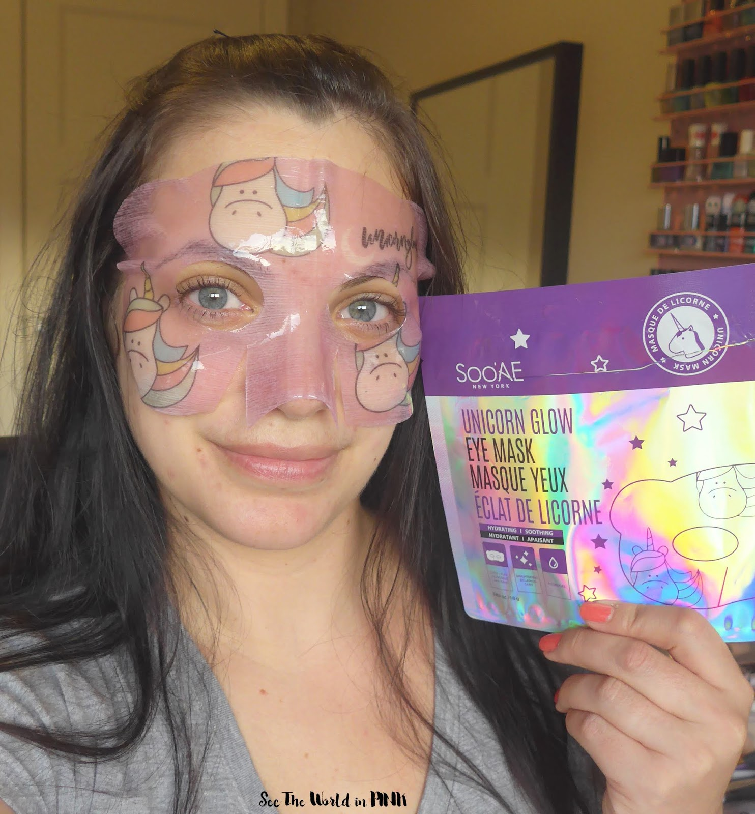 Skincare Sunday - SooAe Unicorn Glow Eye Mask