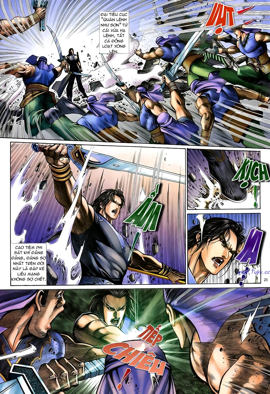 Anh hùng vô lệ Chap 24 trang 26