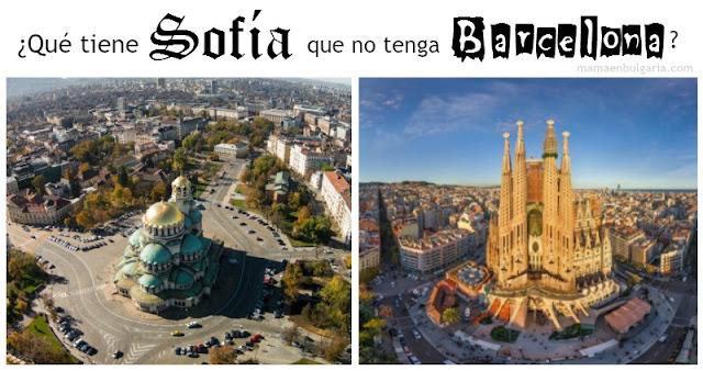 Sofía y Barcelona ventajas