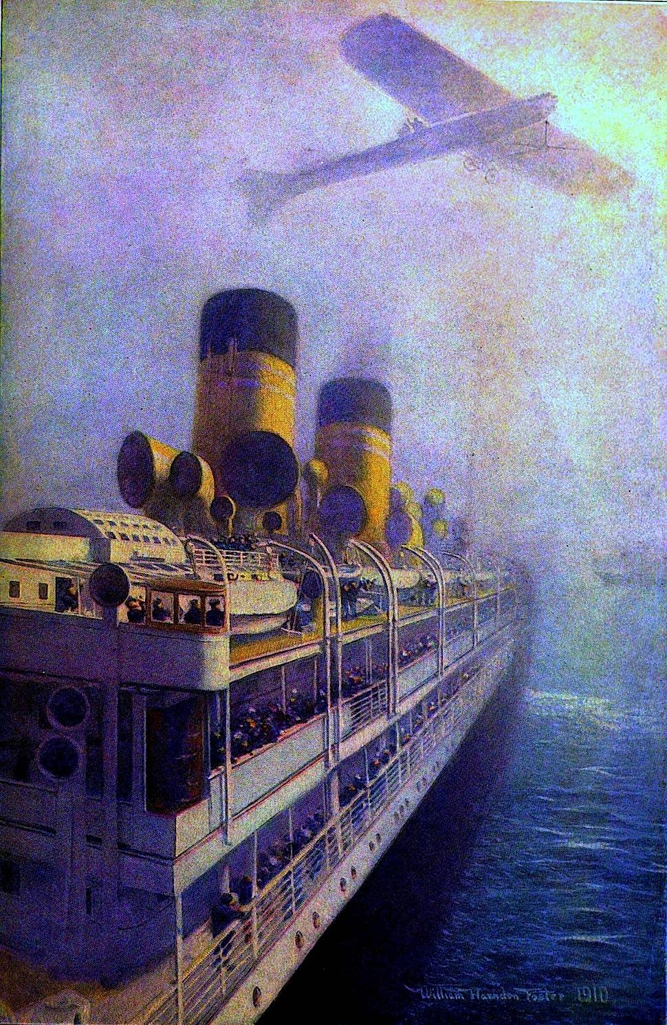 William Harnden Foster 1910 fog