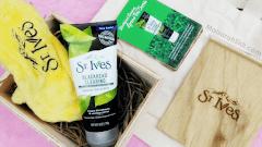 Puas Hati dengan St Ives Blackhead Clearing Green Tea Scrub