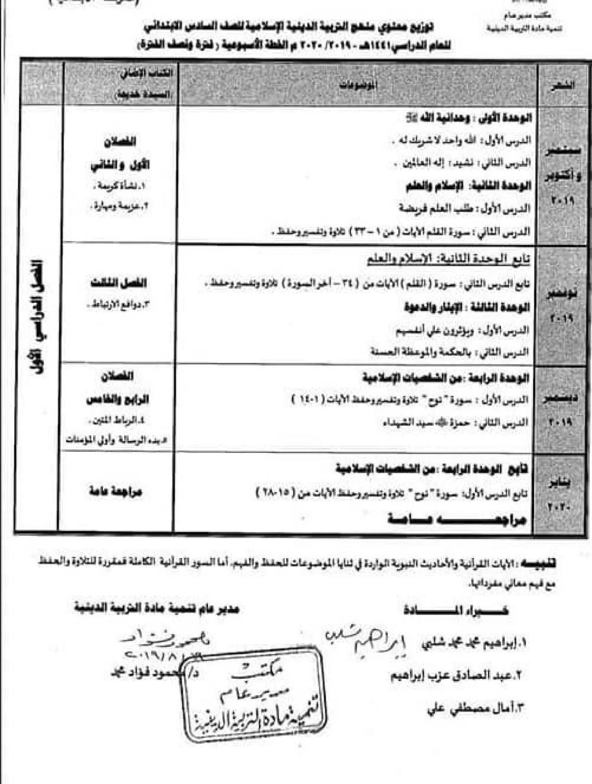 كتاب التربية الاسلامية للصف الثالث الابتدائي 2021 الترم الثاني