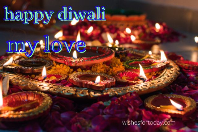 Happy Diwali My Love Images For Husband