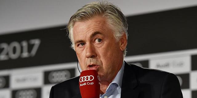 Ancelotti: Neymar? Bayern Sudah Punya Akademi Sendiri