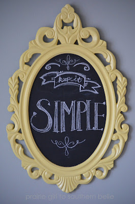 Easy Mirror Make over ideas