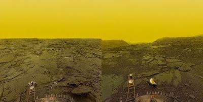 La primera nau que va sobrevolar un altre planeta