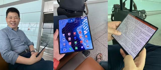 Bentuk Mate X Bocor, Pertanda Huawei Akan Segera Merilis Mate X