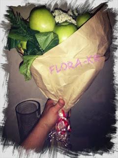 букеты из фруктов фото