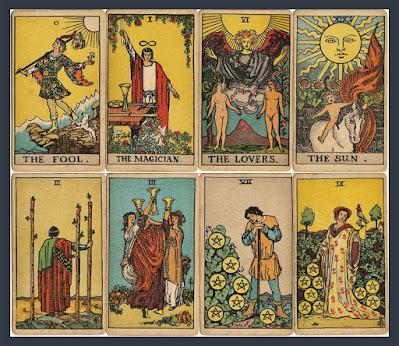 Rider-Waite Tarot deck. A.E. Waite. Occult, Esoteric, Mysticism