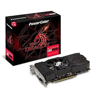 PowerColor 4GB AMD Radeon Red Dragon RX 550 Graphic Card