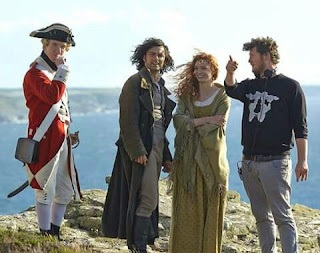 Poldark, William McGregor, Aidan Turner, Eleanor Tomlinson