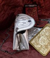 сумочка косметичка с набивным рисунком