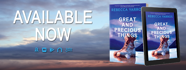 {Blog Tour & ARC Review) Great and Precious Things by Rebecca Yarros