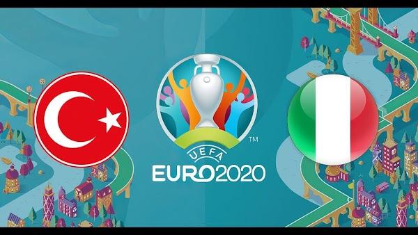 Ver en directo y online el Turquía - Italia