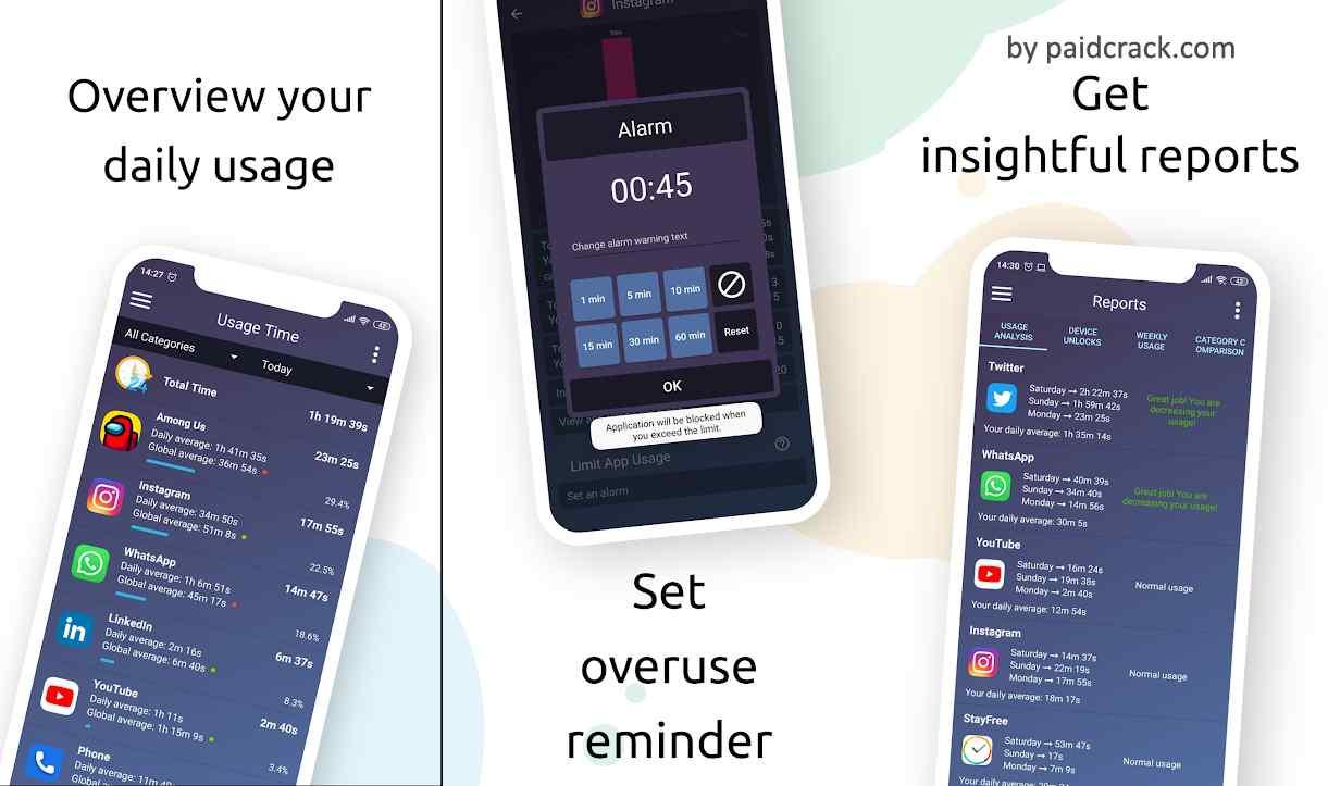 StayFree - Screen Time Tracker Premium Mod Apk 6.4.8