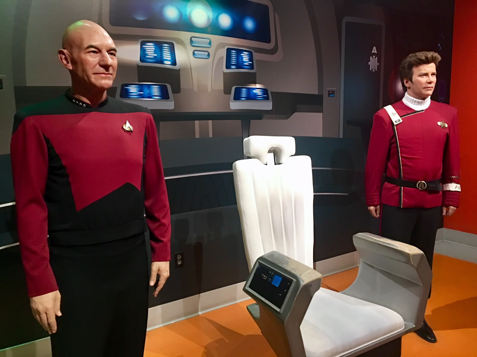 Madame Tussauds Hollywood Review Star Trek