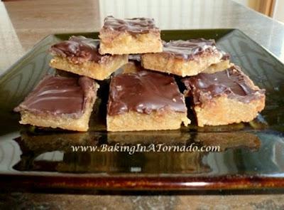 Eggnog Toffee Squares | www.BakingInATornado.com | #recipe