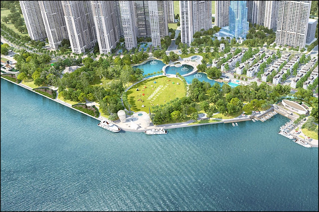 Park Vinhomes Central Park Project in Binh Thanh District