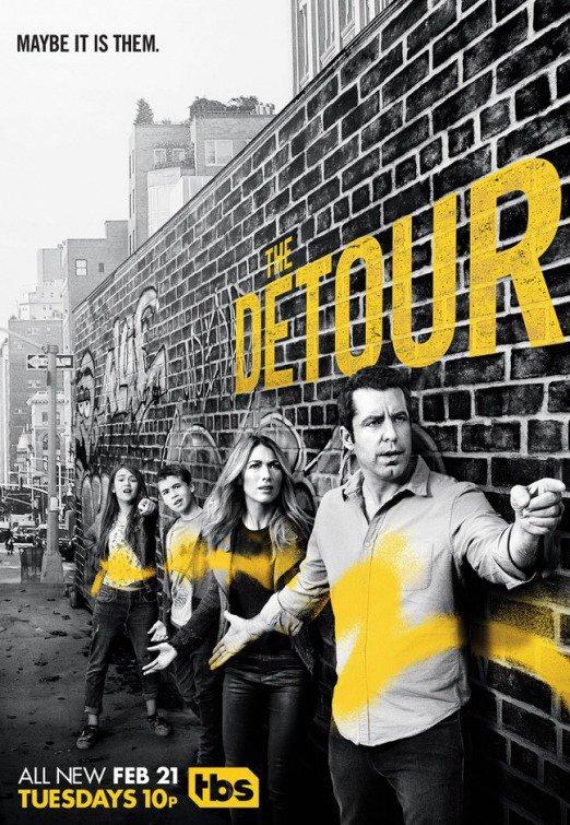 Desviados The Detour series de tv fecha estrno españa