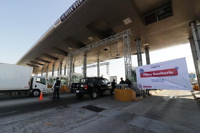 """Por asueto del """"Día del Trabajo"""" volverán los filtros sanitarios en salidas carreteras de la ZMG"""