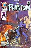 The Phantom v2 #70 charlton comic book cover art by Don Newton