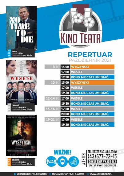 Repertuar Kino Teatr w Sieradzu