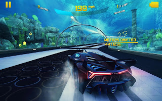 Acer Predator 8 Gaming Sample - Asphalt 8