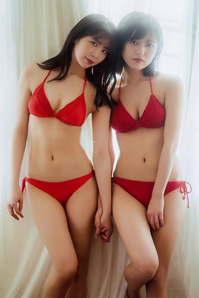 Miharu Nara 奈良未遥, Ayuka Nakamura 中村歩加, B.L.T. 2019.03 (ビー・エル・ティー 2019年3月号)